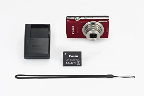 31vMugqRBNL. AC  - Canon PowerShot ELPH 180 Digital Camera w/Image Stabilization and Smart AUTO Mode (Red)