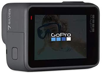 31w5Fq1nBqL. AC  - GoPro HERO7 Silver Waterproof Digital Action Camera with Touch Screen 4K HD Video 10MP Photos (Renewed)