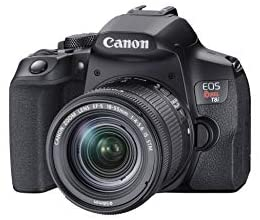 31ypXqsQLCL. AC  - Canon EOS Rebel T8i EF-S 18-55mm is STM Lens Kit, Black