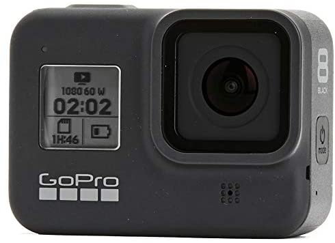41+UqI9Z0mL. AC  - GoPro HERO8 Black Waterproof Action Camera w/Touch Screen 4K HD Video 12MP Photos +Sandisk Extreme 128GB Micro Memory Card + Hard Case + Head Strap + Chest Strap + Gopro Hero 8 - Top Value Accessories