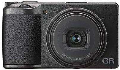 413 T7Jvp+L. AC  - Ricoh GR III Digital Compact Camera, 24mp, 28mm F 2.8 Lens with Touch Screen LCD