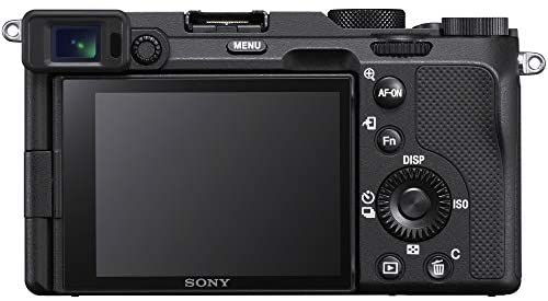 4131dFec QL. AC  - Sony a7C Mirrorless Full Frame Camera Alpha 7C Interchangeable Lens Body Only Black ILCE7C/B Bundle with Deco Gear Case + Extra Battery + Flash + Filters + 64GB Card + Software Kit and Accessories