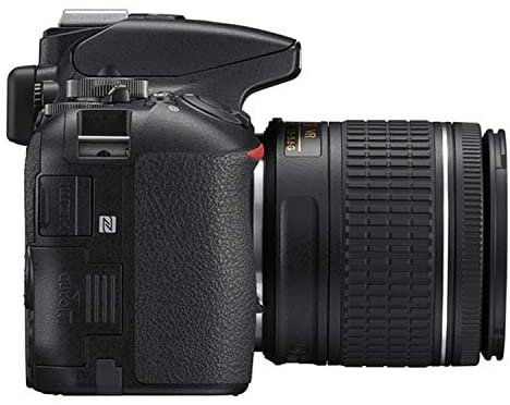 413sG+7sYJL. AC  - Nikon D5600 DSLR Camera Kit with 18-55mm VR + 70-300mm Zoom Lenses | Built-in Wi-Fi | 24.2 MP CMOS Sensor | EXPEED 4 Image Processor and Full HD 1080p | SnapBridge Bluetooth Connectivity