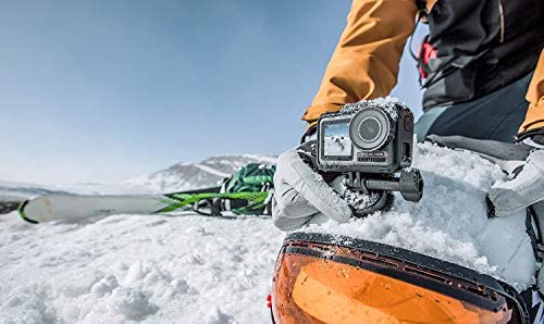 414NyckWuCL. AC  - DJI Osmo Action - 4K Action Cam 12MP Digital Camera with 2 Displays 36ft Underwater Waterproof WiFi HDR Video 145° Angle, Black