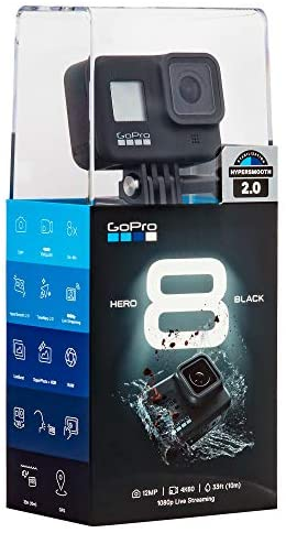 414VEtlqtYL. AC  - GoPro Hero8 Black Action Camera with Accessory Bundle - Sandisk 32gb U3 Video Memory Card, GoPro Hero 8 Spare Battery and Ritz Gear Card Reader