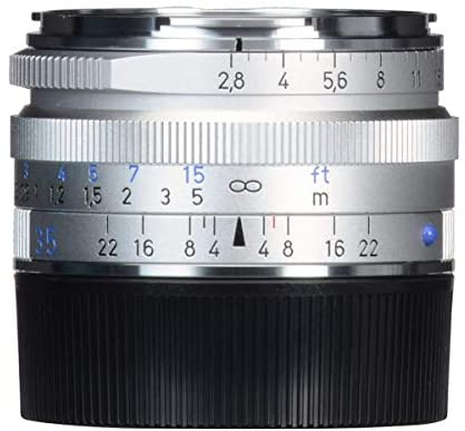 415r4hhGe1L. AC  - Zeiss Ikon C Biogon T ZM 2.8/35 Wide-Angle Camera Lens for Leica M-Mount Rangefinder Cameras, Silver (1486-394-L)