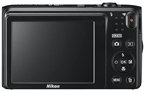 416+1XIyp4L. AC  - Nikon Coolpix A300 20 MP Point & Shoot Digital Camera, Black
