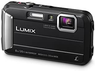 416pMEGbu4L. AC  - Panasonic LUMIX Waterproof Digital Camera Underwater Camcorder with Optical Image Stabilizer, Time Lapse, Torch Light and 220MB Built-In Memory – DMC-TS30K (Black)