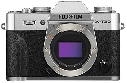 416saJXQ7bL. AC  - Fujifilm X-T30 Mirrorless Digital Camera, Silver (Body Only)