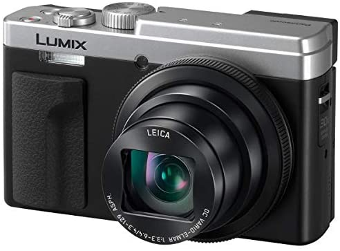 417 wbJiSdL. AC  - Panasonic LUMIX ZS80, 20.3 Megapixel Digital Camera, 4K Video, 30X Zoom Leica Lens DC-ZS80S (Silver), Bundle with Camera Bag, Corel PC Software Pack, 32GB SD Card, Cleaning Kit, Card Reader