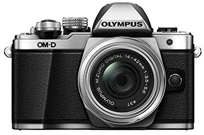 419dzatbpML. AC  - Olympus OM-D E-M10 Mark II Mirrorless Camera with 14-42mm II R Lens (Silver)