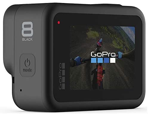 41DzzPqkg2L. AC  - GoPro HERO8 Black Waterproof Action Camera with Touch Screen 4K Ultra HD Video 12MP Photos 1080p Live with Accessory Bundle - 1 Additional GoPro USA Batteries + PNY 64GB U3 microSDHC Card