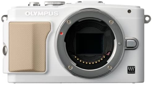 41G83t4k3QL. AC  - Olympus E-PL5 16MP Mirrorless Digital Camera with 3-Inch LCD, Body Only (White) (Old Model)