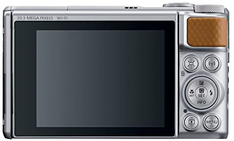 41GvbrEgDML. AC  - Canon PowerShot SX740 Digital Camera w/40x Optical Zoom & 3 Inch Tilt LCD - 4K VIdeo, Wi-Fi, NFC, Bluetooth Enabled (Silver)