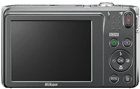 41H7UDxfl L. AC  - Nikon COOLPIX S3700 Digital Camera with 8x Optical Zoom and Built-In Wi-Fi (Silver)
