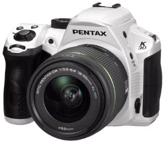 41HktvvDJCL. AC  - Pentax K-30 lens kit white w DA 18-55WR Weather-Sealed 16 MP CMOS Digital SLR with DA 18-55mm and 3-Inch LCD Screen