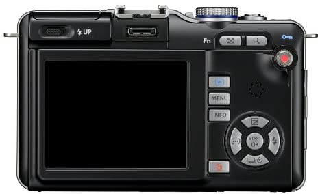 41J0d2BnQcL. AC  - Olympus PEN E-PL1 12.3MP Live MOS Micro Four Thirds Mirrorless Digital Camera with 14-42mm f/3.5-5.6 Zuiko Digital Zoom Lens (Black)