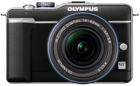 41KBEsiKeVL. AC  - Olympus PEN E-PL1 12.3MP Live MOS Micro Four Thirds Mirrorless Digital Camera with 14-42mm f/3.5-5.6 Zuiko Digital Zoom Lens (Black)