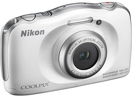 41M7IHSZ2nL. AC  - Nikon COOLPIX W100 13.2MP Digital Camera w/ 3X Zoom Lens (Renewed) with 16GB Bundle Includes, Sandisk Ultra SDHC 16GB Memory Card + Point and Shoot Field Bag Camera Case + Many More