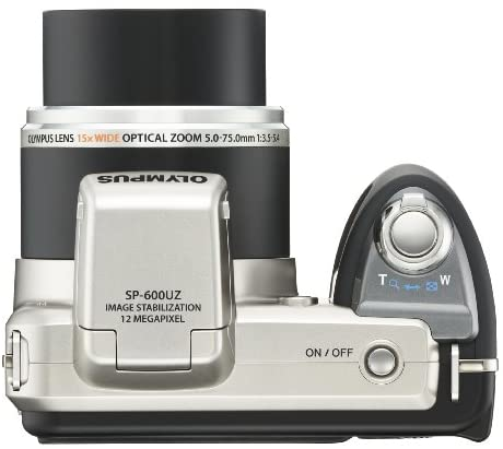 41OtW2GwkYL. AC  - Olympus SP-600UZ 12MP Digital Camera with 15x Wide Angle Dual Image Stabilized Zoom and 2.7 inch LCD (Old Model)