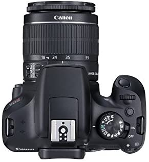 41PGebD+jpL. AC  - Canon EOS Rebel T6 Digital SLR Camera Kit with EF-S 18-55mm f/3.5-5.6 is II Lens, Built-in WiFi and NFC - Black (Renewed)