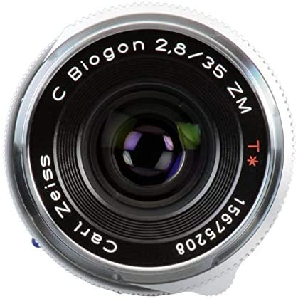 41Q 28yWtLL. AC  - Zeiss Ikon C Biogon T ZM 2.8/35 Wide-Angle Camera Lens for Leica M-Mount Rangefinder Cameras, Silver (1486-394-L)
