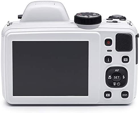 41Q g3ctX7L. AC  - KODAK PIXPRO AZ421 Astro Zoom 16MP Digital Camera with 42x Optical Zoom (White) Bundle with 32GB SD Memory Card and Holster Bag (3 Items)