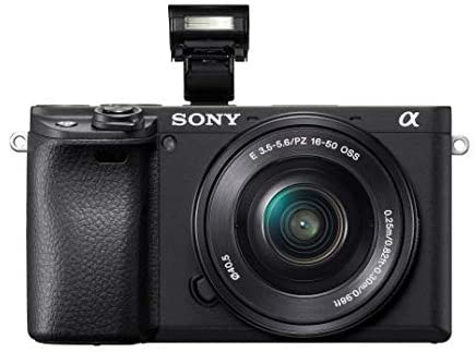 41TJ7SA6LsL. AC  - Sony Alpha a6400 Mirrorless Camera: Compact APS-C Interchangeable Lens Digital Camera with Real-Time Eye Auto Focus, 4K Video, Flip Screen & 18-135mm Lens - E Mount Compatible Cameras - ILCE-6400M/B