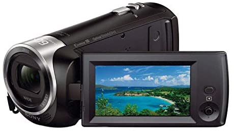 41Tb+gUkbvL. AC  - Sony CX405 Handycam 1080p Camcorder with 32GB SD Card and Accessory Bundle