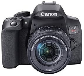 41WNsUhC53L. AC  - Canon EOS Rebel T8i EF-S 18-55mm is STM Lens Kit, Black