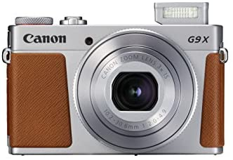 41YEyIPEnKL. AC  - Canon PowerShot G9 X Mark II Compact Digital Camera w/ 1 Inch Sensor and 3inch LCD - Wi-Fi, NFC, & Bluetooth Enabled (Silver)