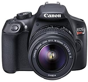 41YtSWt5yxL. AC  - Canon EOS Rebel T6 Digital SLR Camera Kit with EF-S 18-55mm f/3.5-5.6 is II Lens, Built-in WiFi and NFC - Black (Renewed)