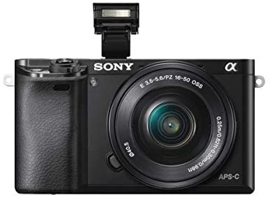 41Yvuqe45cL. AC  - Sony Alpha a6000 Mirrorless Digital Camera 24.3MP SLR Camera with 3.0-Inch LCD (Black) w/16-50mm Power Zoom Lens