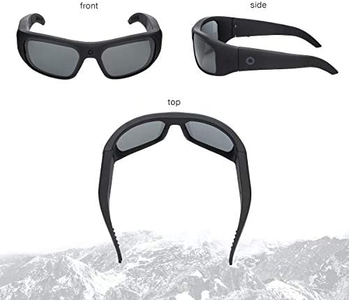 41cJ7GXHBVL. AC  - iVUE Vista 4K/1080P HD Camera Glasses Video Recording Sport Sunglasses DVR Eyewear, Up to 120FPS, 64GB Memory