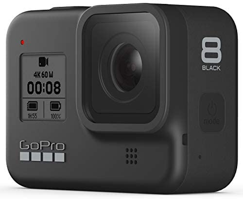 41dsLdizGUL. AC  - GoPro HERO8 Black Waterproof Action Camera with Touch Screen 4K Ultra HD Video 12MP Photos 1080p Live with Accessory Bundle - 1 Additional GoPro USA Batteries + PNY 64GB U3 microSDHC Card