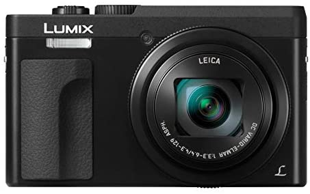 41gBoH9O84L. AC  - Panasonic LUMIX DC-ZS70K 20.3MP 4K Digital Camera (Black) with 64GB SD Card and Accessory Bundle