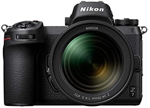 41kKMbRDovL. AC  - Nikon Z7 FX-Format Mirrorless Digital Camera with 24-70mm Lens, Basic Bundle with FTZ Mount Adapter, Neck Strap, Extra Battery and Accessories