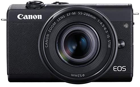 41kcc0FaoDL. AC  - Canon EOS M200 Compact Mirrorless Digital Vlogging Camera with EF-M 15-45mm Lens, Vertical 4K Video Support, 3.0-inch Touch Panel LCD, Built-in Wi-Fi, and Bluetooth Technology, Black