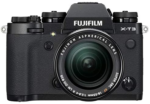 41lJRv7O36L. AC  - Fujifilm X-T3 26.1MP Mirrorless Camera with XF 18-55mm f/2.8-4 R LM OIS Lens, Black - Bundle with 32GB SDHC Card, Camera Case, 58mm Filter Kit, Cleaning Kit, Card Reader, PC Software Pack and More