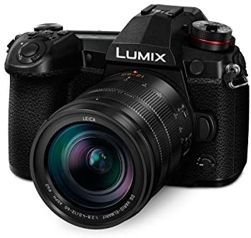 41n9y4nyb4L. AC  - Panasonic LUMIX G9 Mirrorless Camera, Micro Four Thirds, 20.3 Megapixels Plus 80 Megapixel, High-Resolution Mode with LUMIX G Vario 12-60mm F3.5-5.6 Lens (DC-G9MK), Black