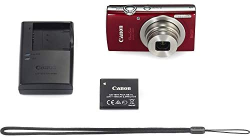 41q3dva2nTL. AC  - Canon PowerShot ELPH 180 Digital Camera (Red) w/ 32GB SD Card