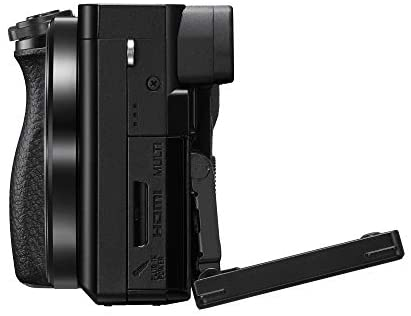 41sFCt0rDoL. AC  - Sony Alpha A6100 Mirrorless Camera with 16-50mm and 55-210mm Zoom Lenses, ILCE6100Y/B, Black