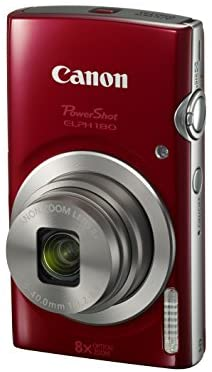 41vVi99vSoL. AC  - Canon PowerShot ELPH 180 Digital Camera w/Image Stabilization and Smart AUTO Mode (Red)