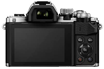 41vvNkQvfpL. AC  - Olympus OM-D E-M10 Mark II Mirrorless Camera with 14-42mm II R Lens (Silver)