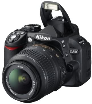 41ww24MzljL. AC  - Nikon D3100 DSLR Camera with 18-55mm f/3.5-5.6 Auto Focus-S Nikkor Zoom Lens (Discontinued by Manufacturer)