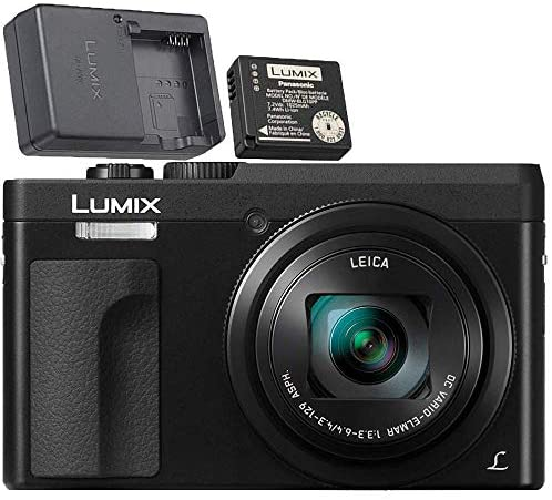 51+CrDOJVgL. AC  - Panasonic LUMIX DC-ZS70S 20.3MP 4K Digital Camera (Black) with Battery and External Charger Travel Pack Bundle