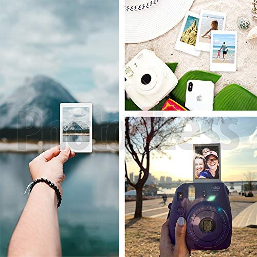 51 EpYztxJL. AC  - Fujifilm Instax Mini 11 Instant Camera - Charcoal Grey (16654786) + 3x Packs Fujifilm Instax Mini Twin Pack Instant Film + Batteries + Case - Instant Camera Bundle