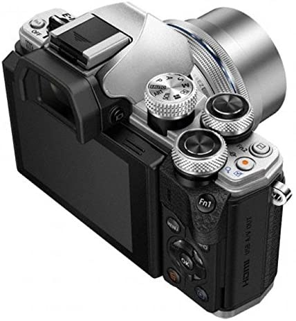 514xnBP3HfL. AC  - Olympus OM-D E-M10 Mark II Mirrorless Camera with 14-42mm II R Lens (Silver)
