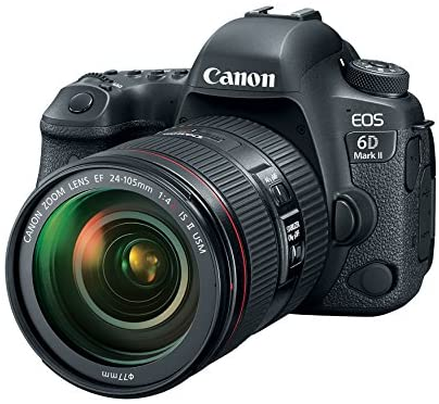 515DHgSLrcL. AC  - Canon EOS 6D Mark II DSLR Camera with EF 24-105mm USM Lens, WiFi Enabled