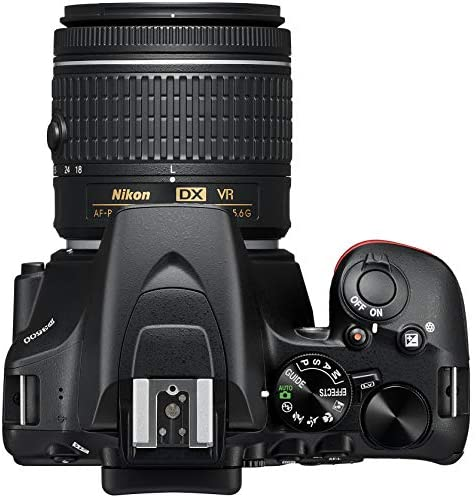 516grGOU7sL. AC  - Nikon D3500 24.2MP DSLR Camera with AF-P DX NIKKOR 18-55mm f/3.5-5.6G VR Lens (1590B) – (Renewed)